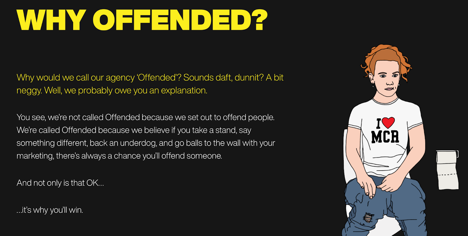 Offended challenges category conventions