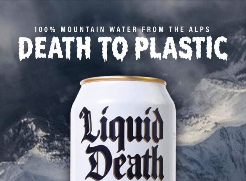 Liquid Death challenges category conventions