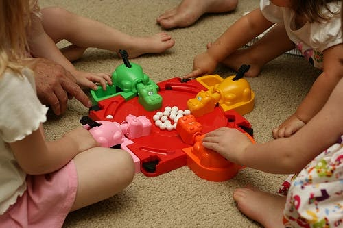 There are 13 positioning principles that can be illustrated from Hungry Hungry Hippos