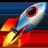 Emoji Fusée, Startup