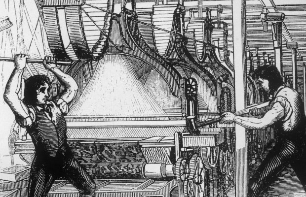 How the Industrial Revolution Gave Rise to Violent 'Luddites' - HISTORY