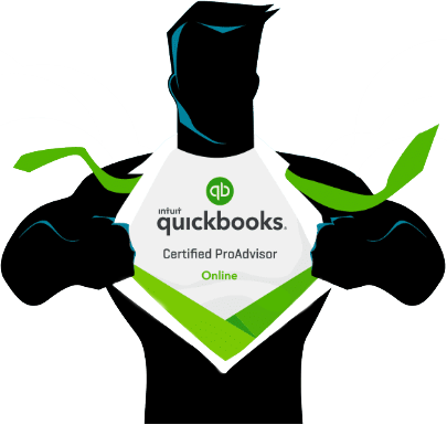 Quickbooks Certified ProAdvisor graphic.