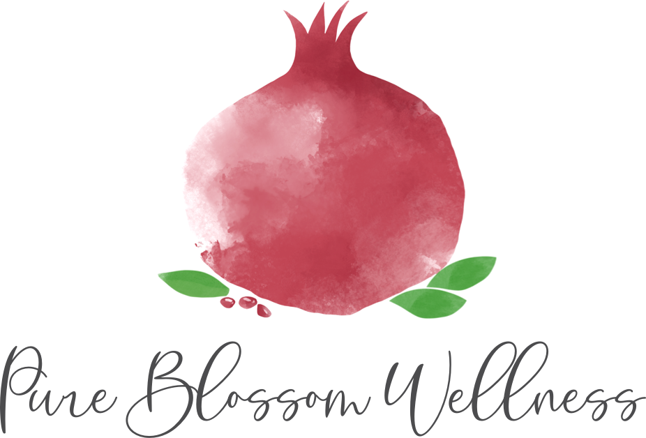 Pure Blossom Wellness Logo Portrait
