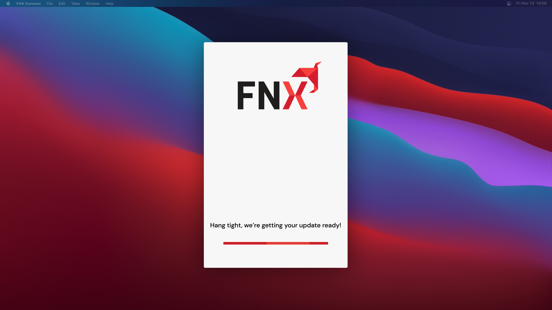 FNX Connect Splash Image
