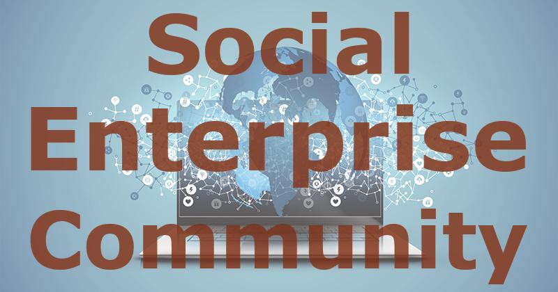 Social enterprise community logo