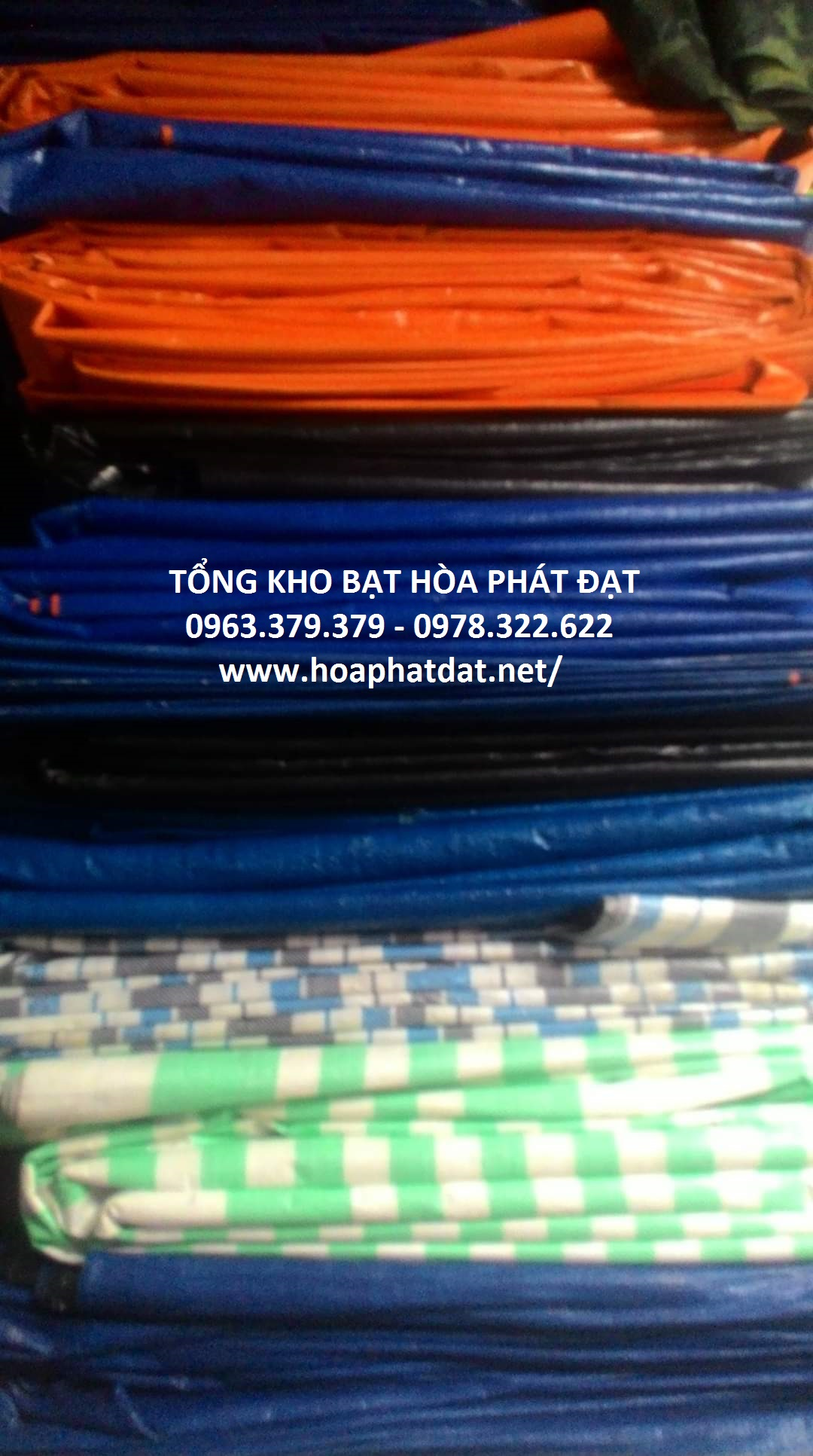Bạt nhua 2 da han quoc chinh hang hoa phat dat
