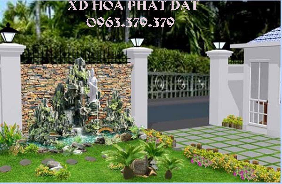 Thiết kế mô hình tiểu cảnh sân vườn - tiểu cảnh hòn non bộ đẹp - độc - lạ theo phong thủy