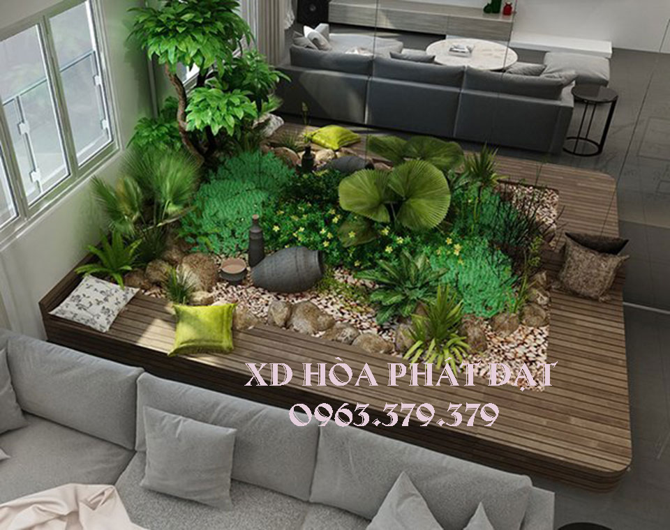 Tiểu cảnh sân vườn hiện đại, đẹp mắt mang phong cách mới cho ngôi nhà của bạn