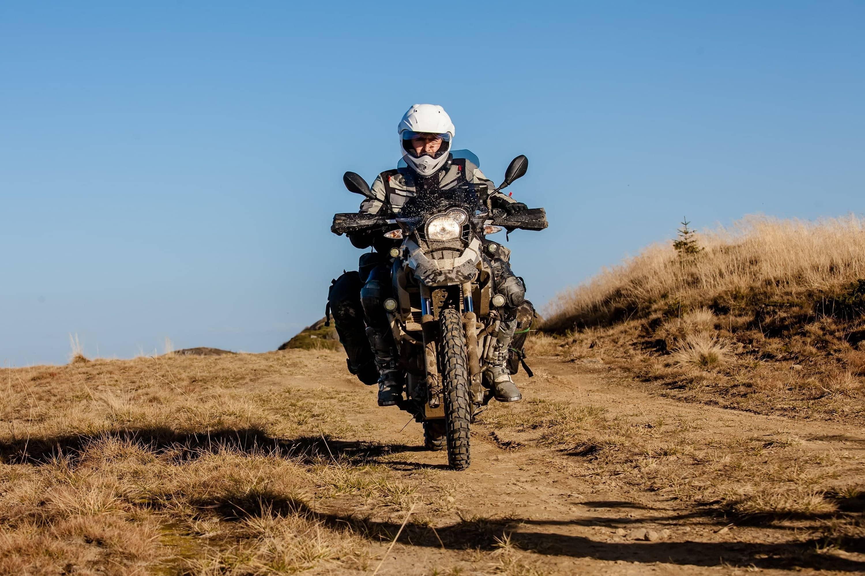 Exemple de moto compatible avec le gilet pour motard Chill Ride