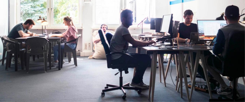 Foto aus dem 2trde Büro