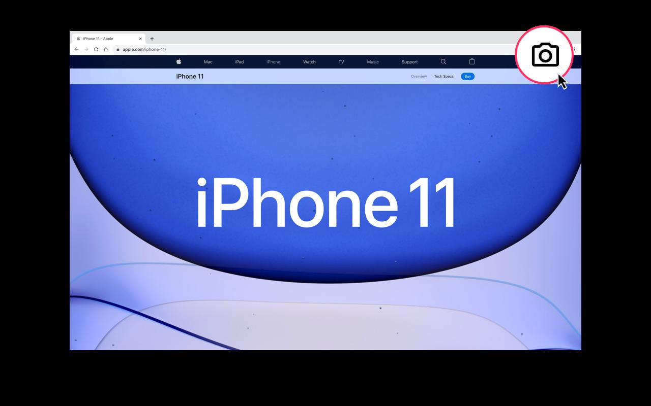 Chrome Screenshot Extension