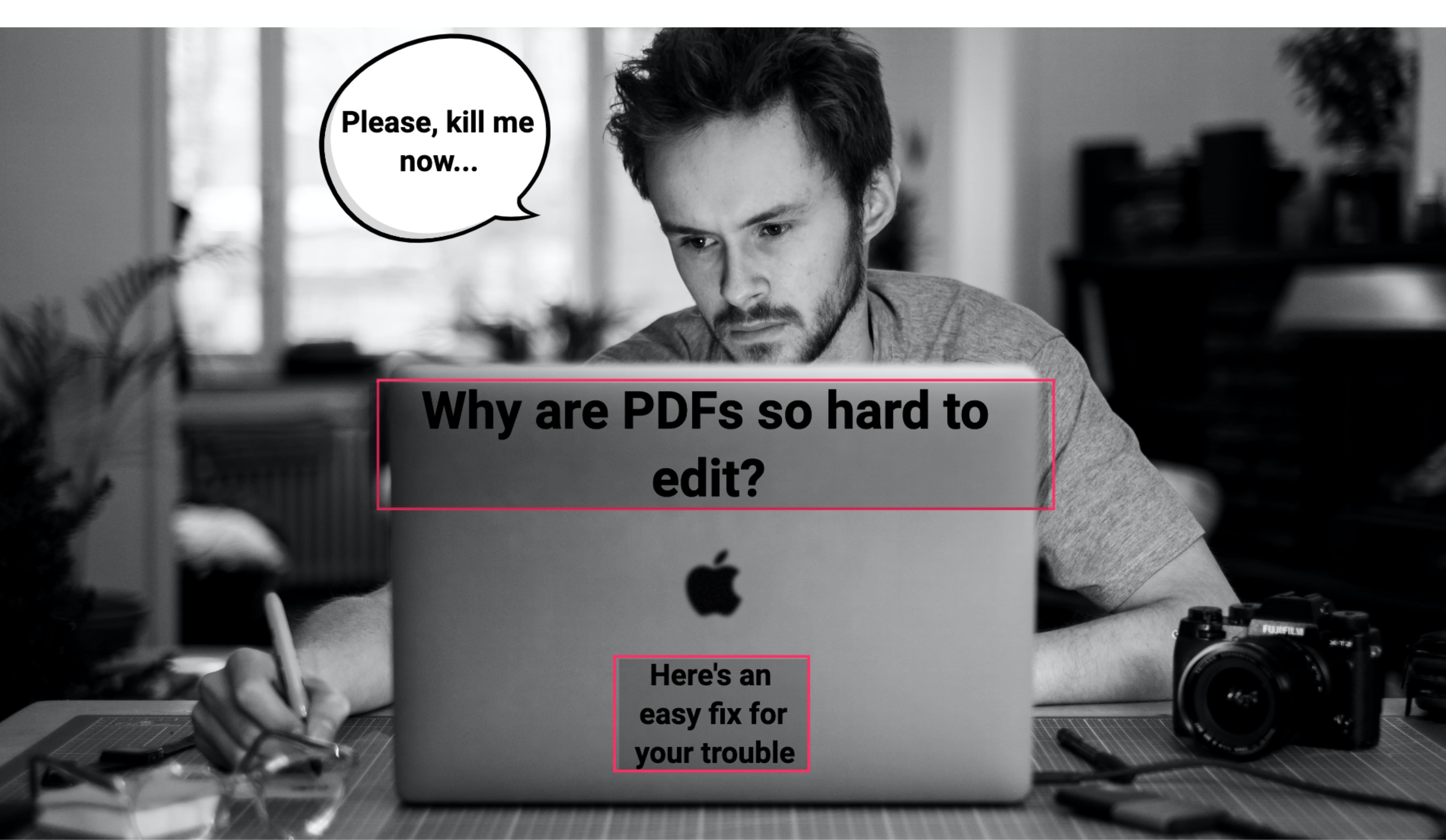 Why edit PDF?