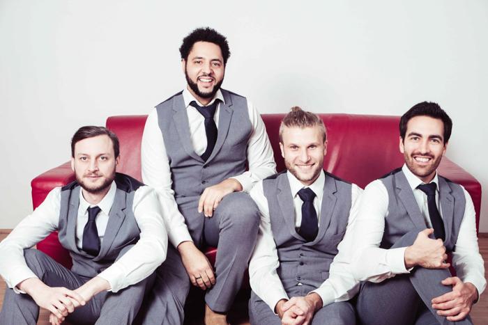 "Hochzeitsband ""The SUITcases"""