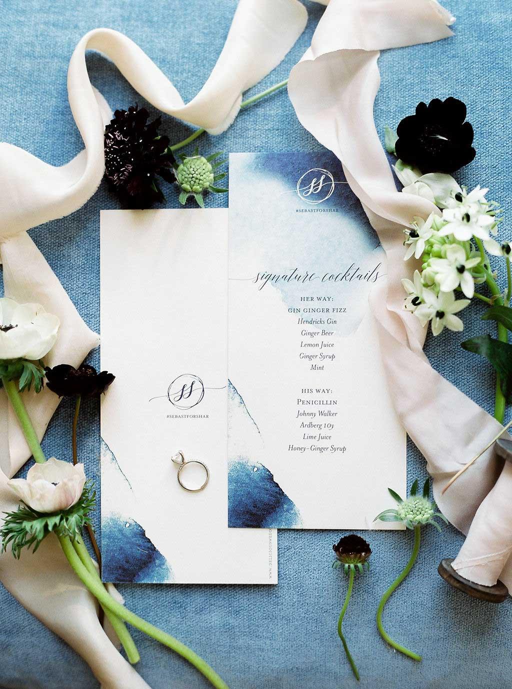 """Hochzeitspapeterie """"deliciouswedding"""""""