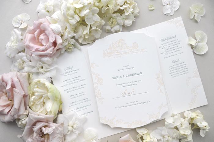 "Hochzeitspapeterie ""Carissimo Letterpress"""