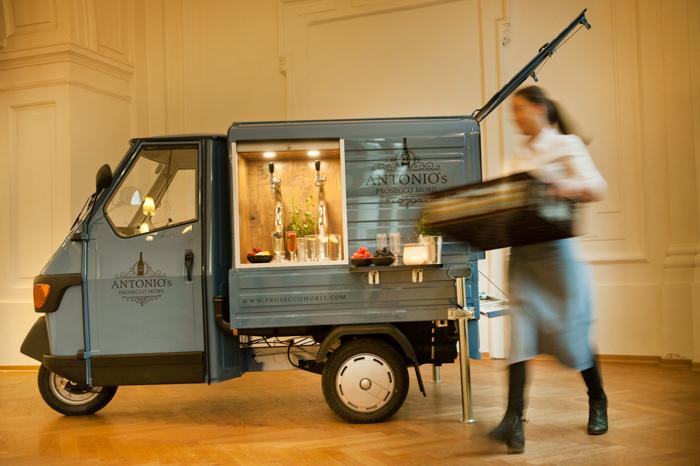Antonio's Prosecco Mobil | Mobile Bar für eure Hochzeit