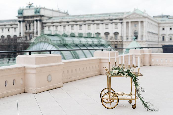 """Hochzeitsdekoration """"Wedding Bazaar Vienna"""""""