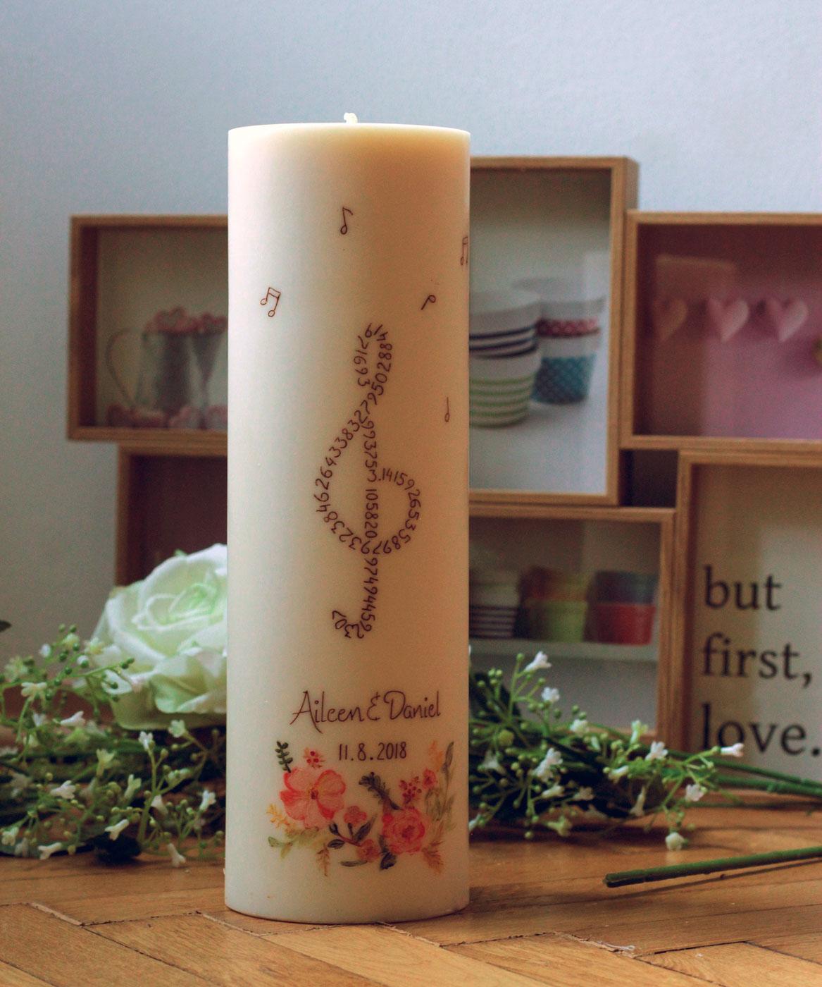 Hochzeitskerzen | Paliti Bio-Kerzen