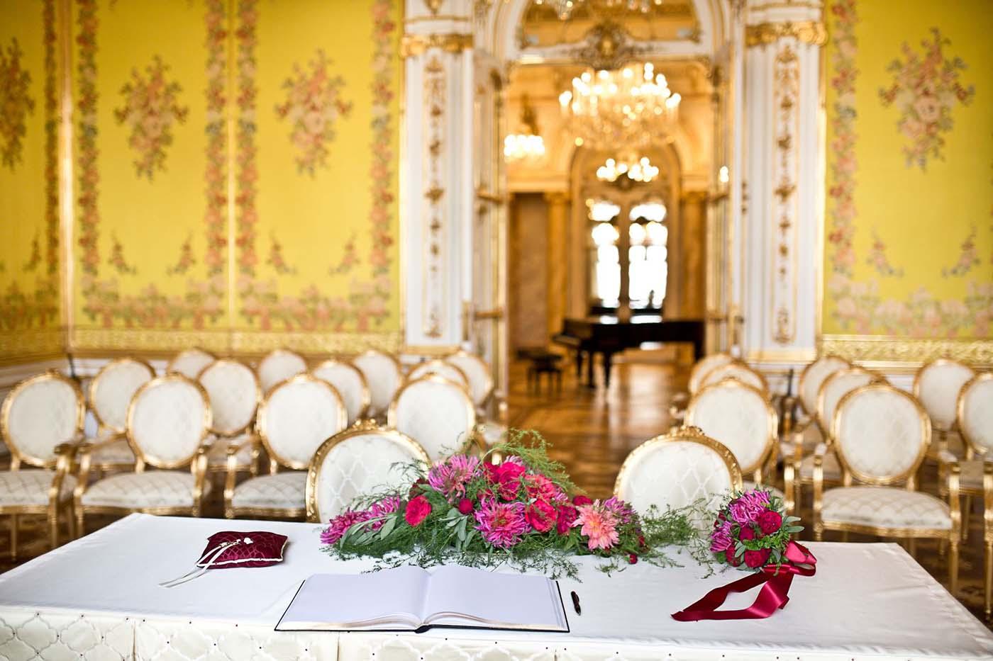 "Hochzeitslocation ""Palais Coburg"""