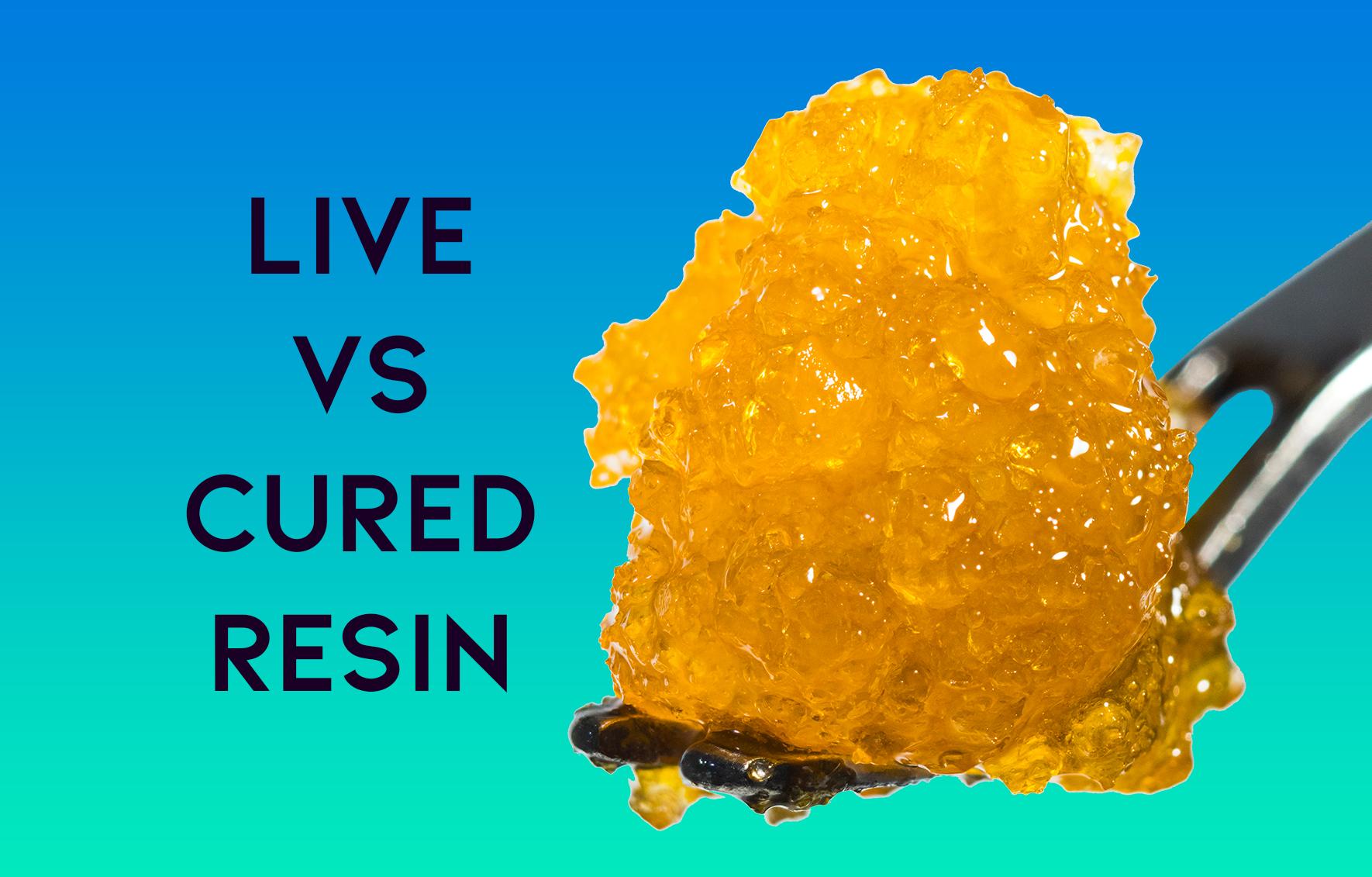 Live Vs. Cured Resin