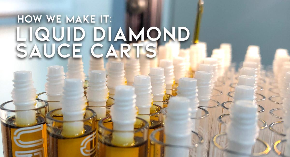 How We Make Our Live Resin Liquid Diamond Sauce Carts