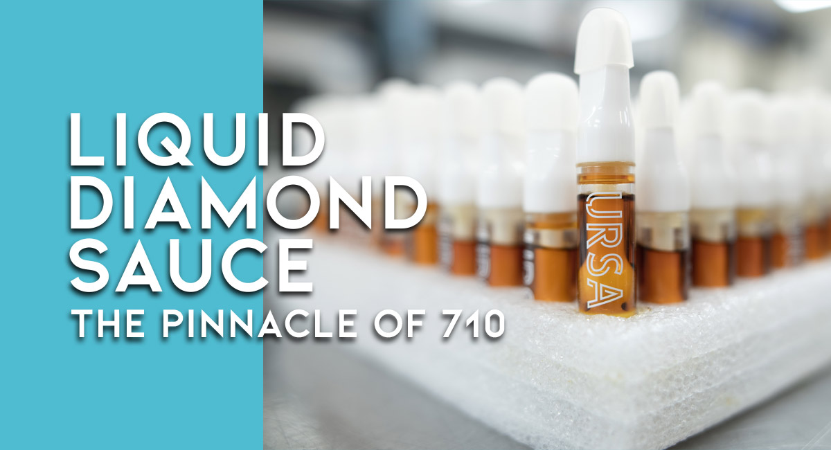 Liquid live resin THC Diamonds now represent the pinnacle of oil concentrates for vaping. That's why we coined the term Liquid Diamond Sauce for URSA's live resin cartridges. Learn more about what liquid diamonds sauce is, how we make it, and why its popularity is justified.