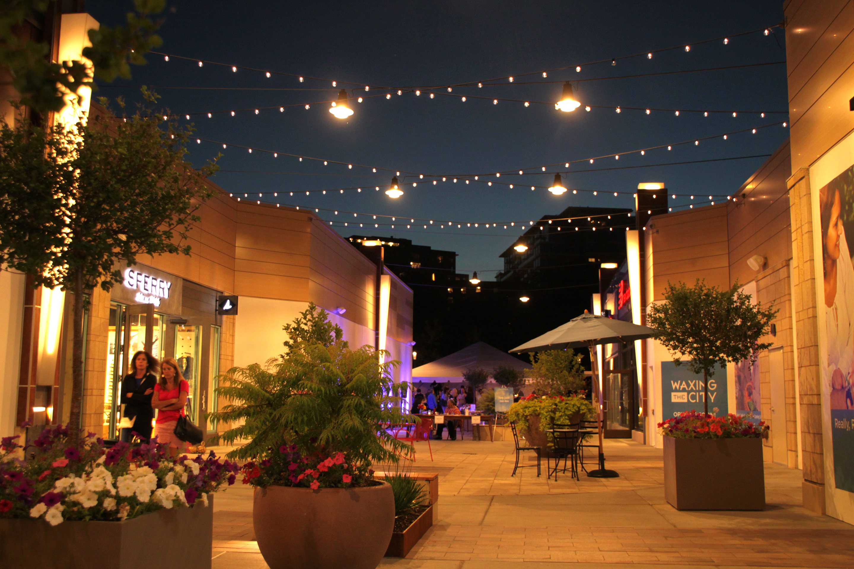 The renovation of Hilldale shopping center involved reinvigorating a stable but aging shopping mall through a multi-use infill approach.