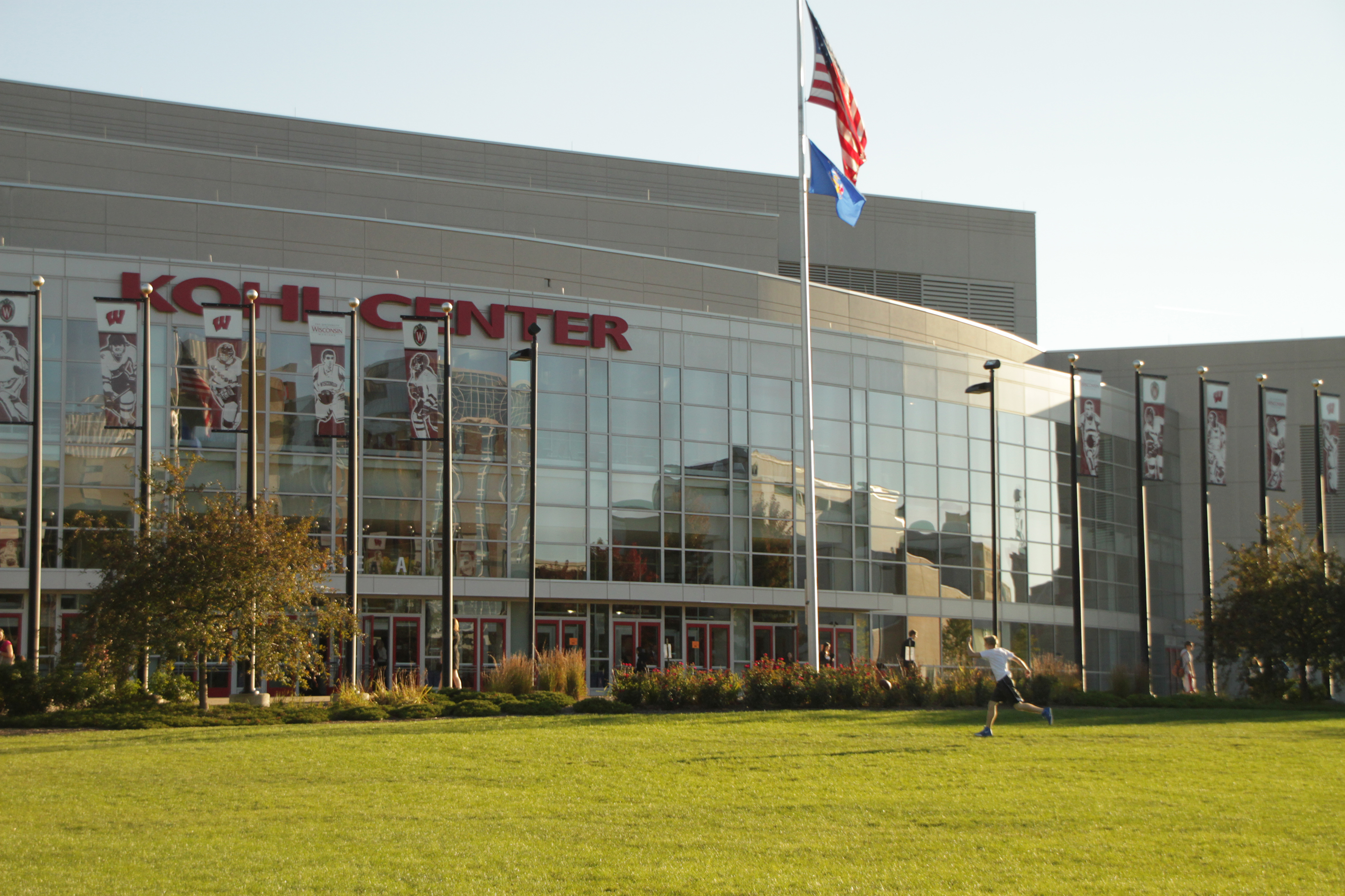 The Kohl Center is an icon of the University of Wisconsin - Madison campus and a centerpiece of the University's Athletic Department.