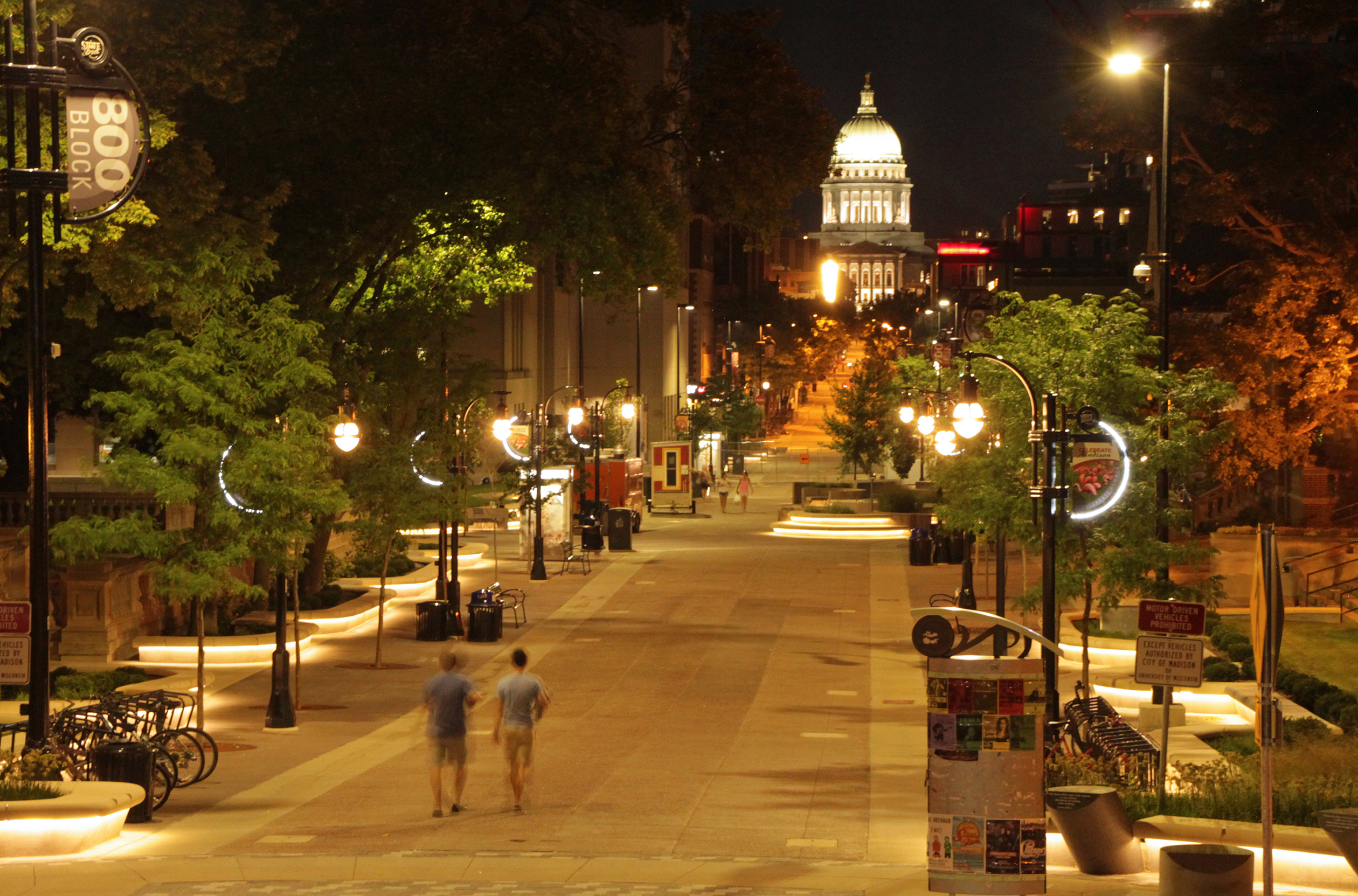 In the heart of the city and bookended by the State Capitol and the University of Wisconsin lies State Street, perhaps one of the most visited places in all of Madison.