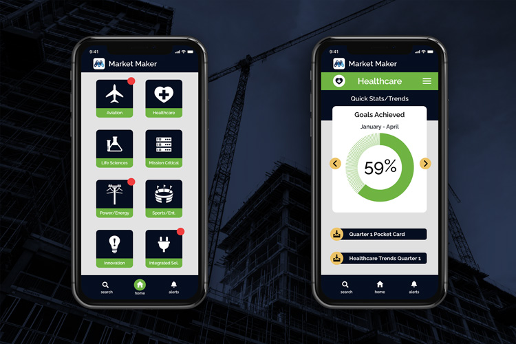 Market Maker iPhone Screens