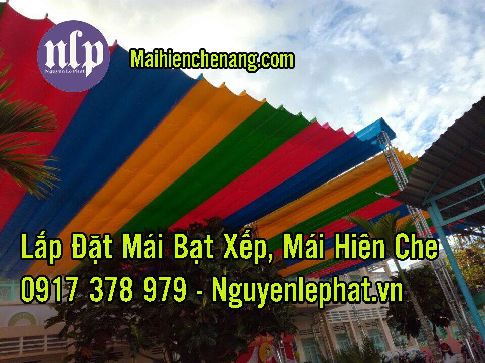 #1 Báo giá lắp đặt mái bạt xếp lượn sóng di động Hà Nội, TPHCM