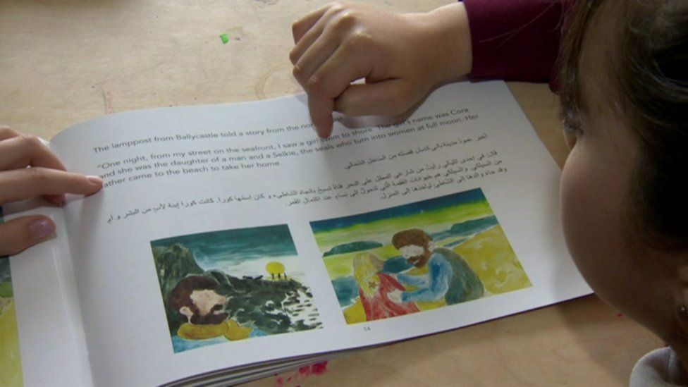Syrian refugees: How are young pupils adapting to NI schools?