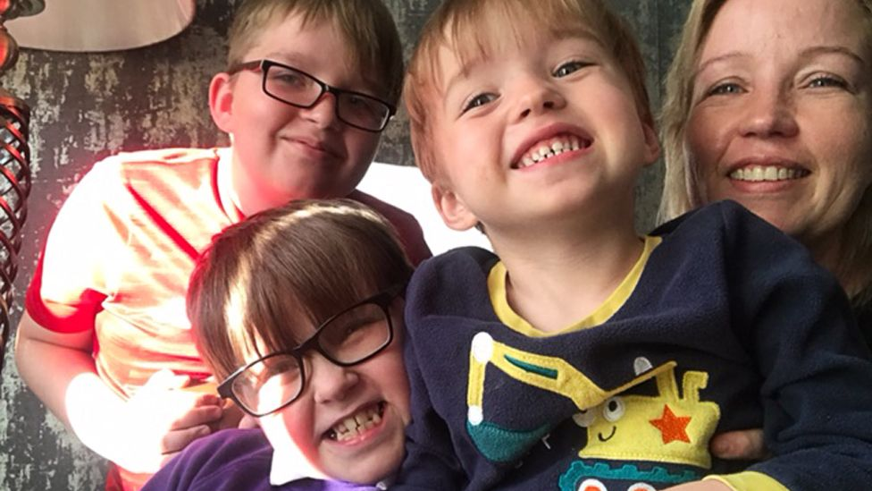 mum and 3 sons - Louise Hearn