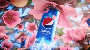 百事可樂 太汽系列 白桃烏龍味可樂