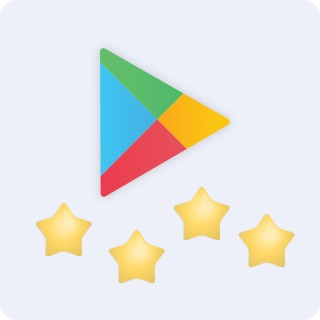 Instar got average 4.7 start in app's review