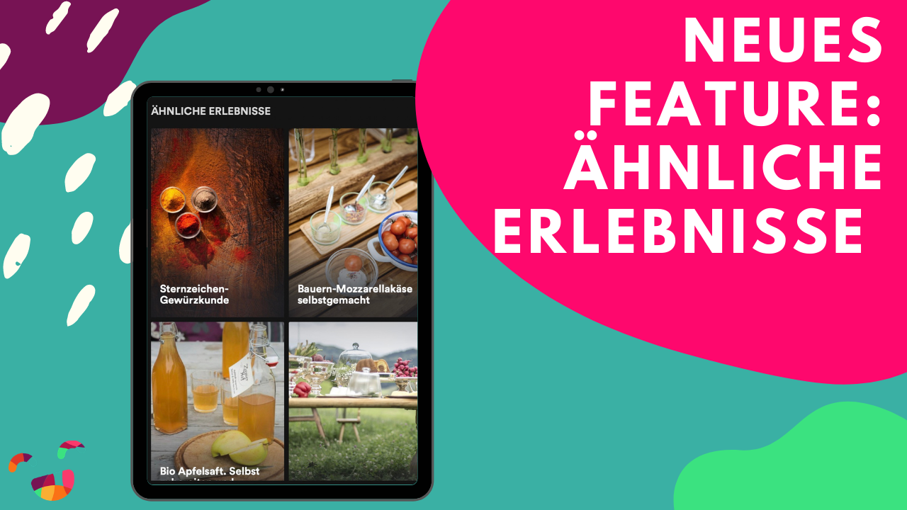 ÄHNLICHE ERLEBNISSE 🎯  neues Feature!