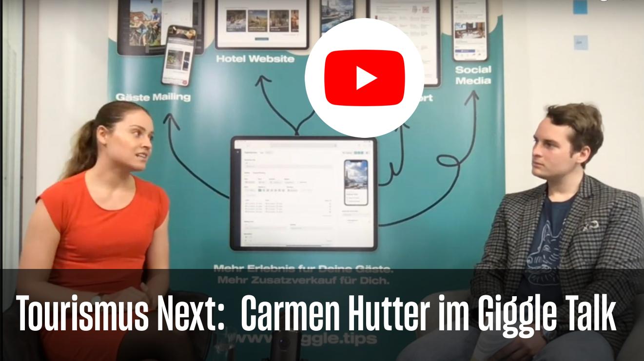 Travel Influencer Carmen Hutter spricht im Giggle Talk über authentischen Travel Content 📸