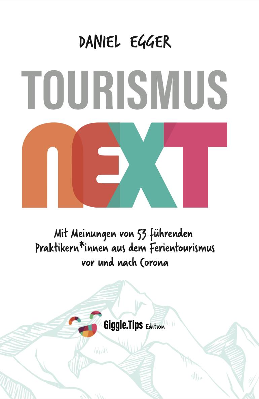 """Tourismus Next"" Autor Daniel Egger im Giggle Talk 📚"