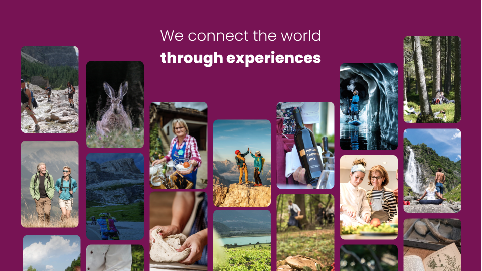 We connect the world through experiences 🚀
