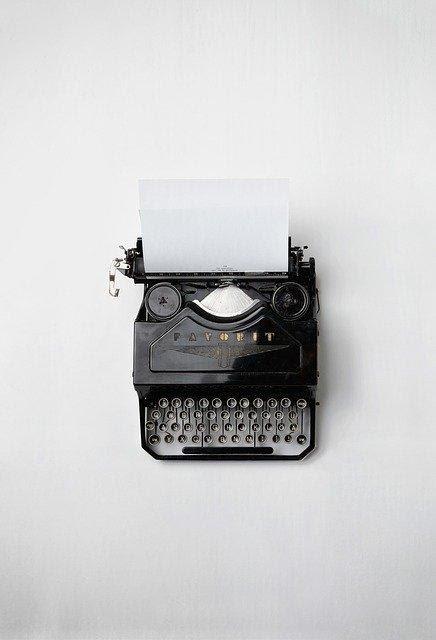 Máquina de escribir copywriting