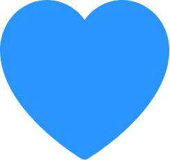 AssistMe Heart Blue
