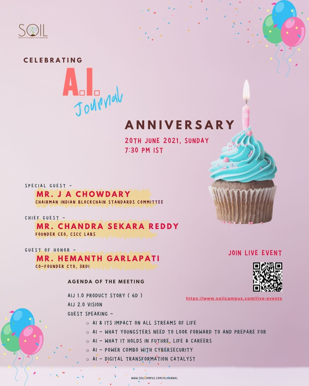AI Journal First Anniversary