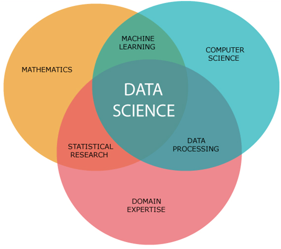 Figure 2. Amalgamation of Elements into Data Science