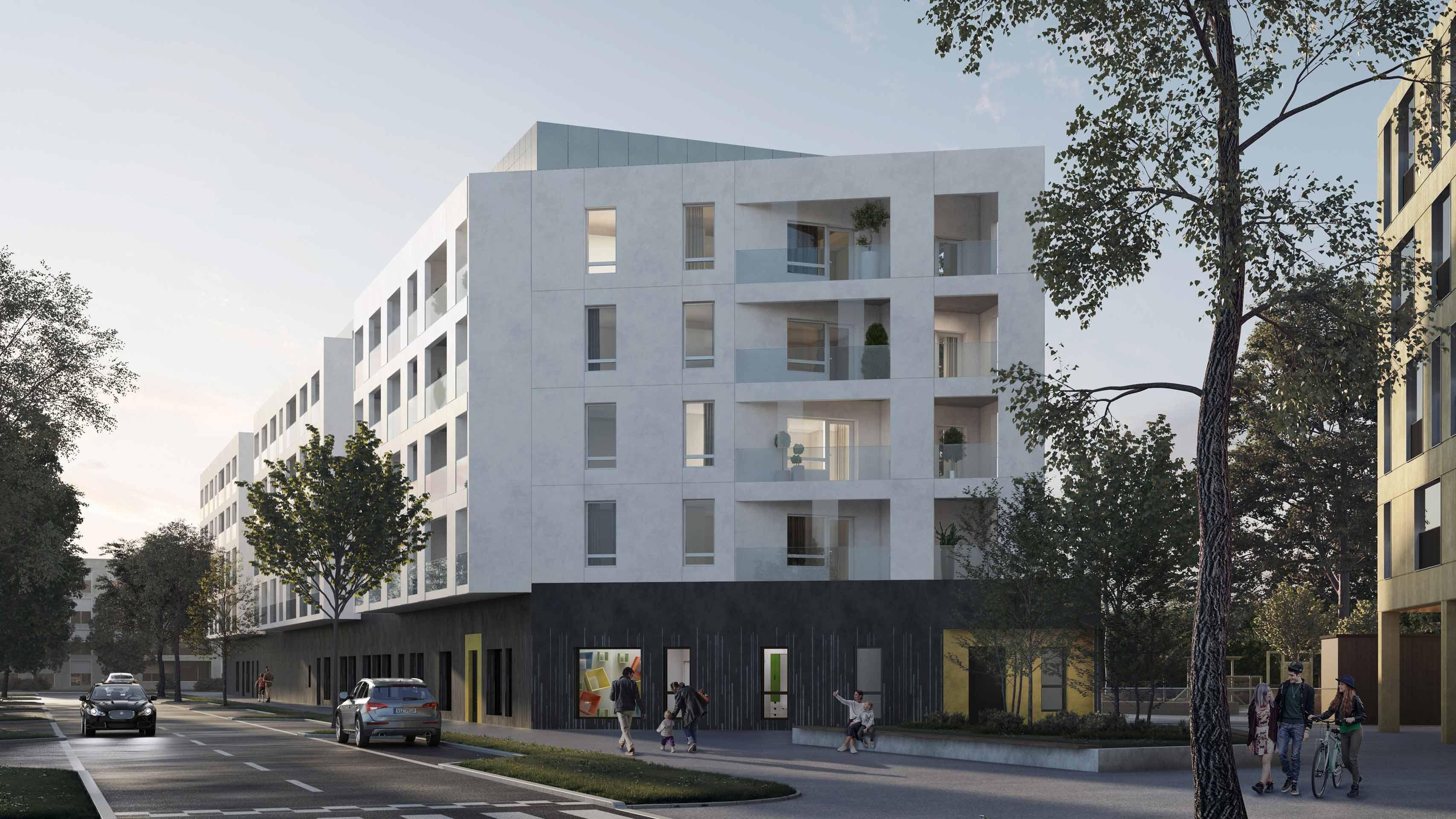 UK3 päiväkoti ja asunnot |  Varma ja Espoon kaupunki