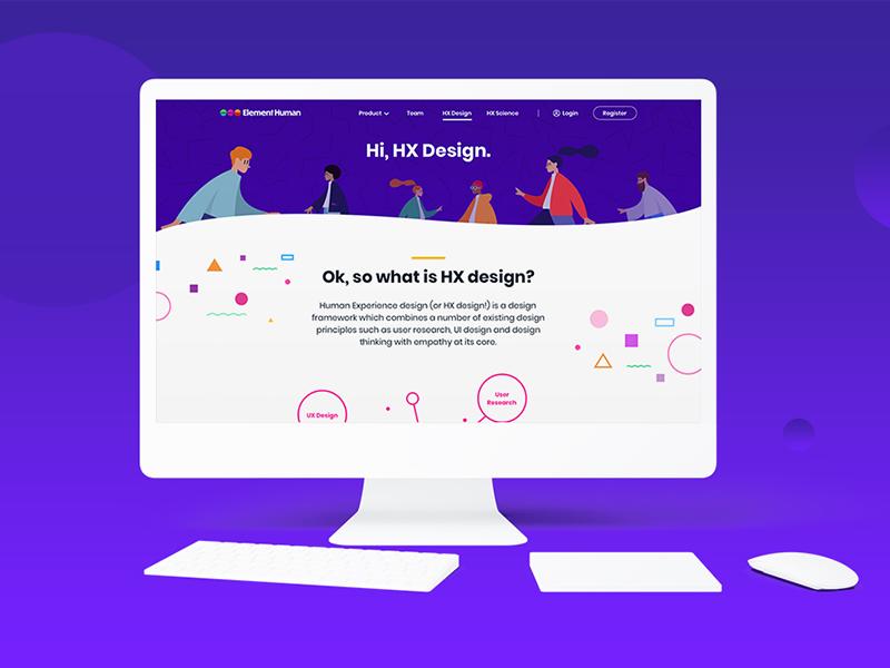 Element Human Website – HX Design