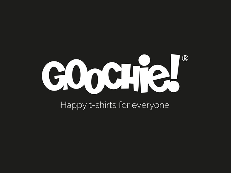 Goochie! Happy t-shirts for everyone
