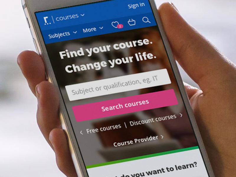 reed.co.uk courses