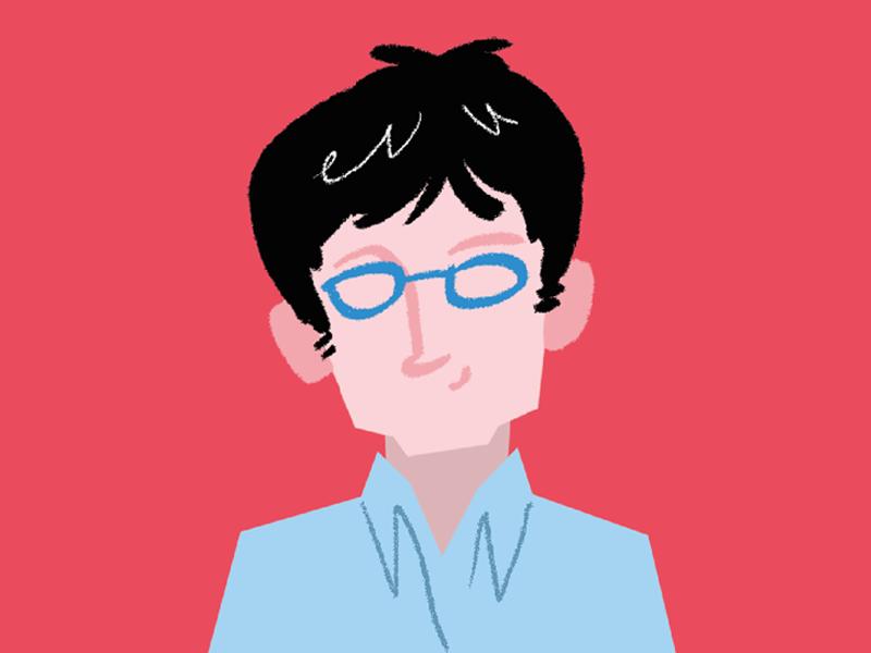 reed.co.uk's personas illustration set