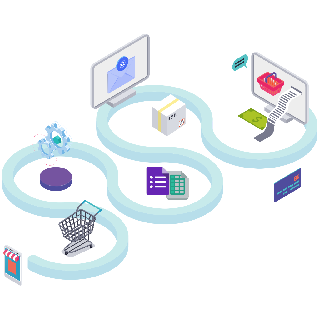 No matter which industrial operations you have, we provide open integration with your core applications through easy to integrate APIs, book now button and bulk upload feature.