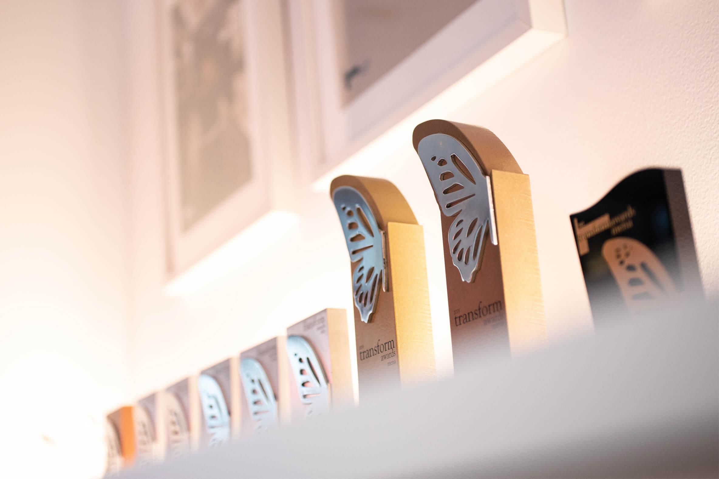 Award-winning creative brand design agency in UAE and UK.